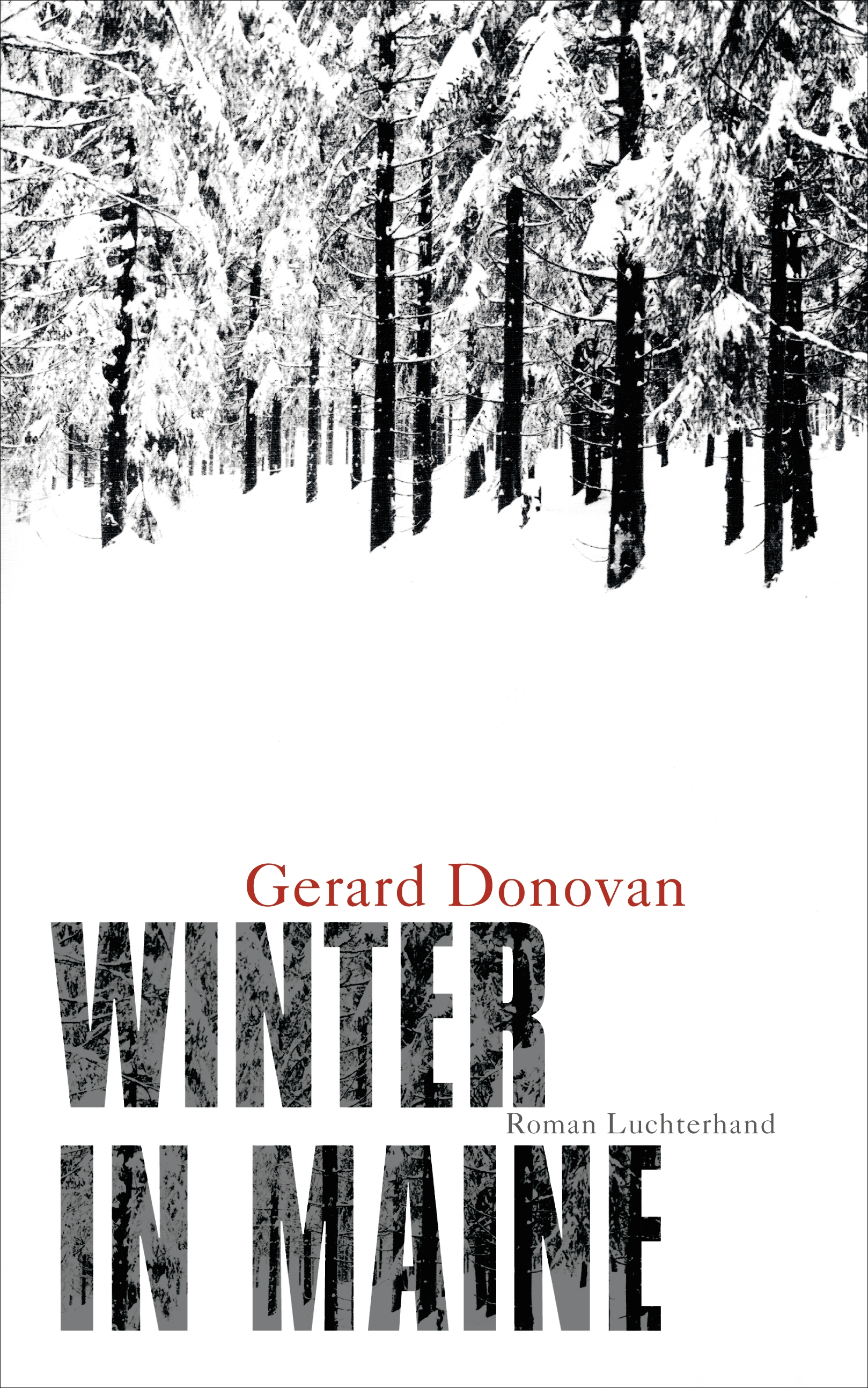 Winter in Maine von Gerard Donovan
