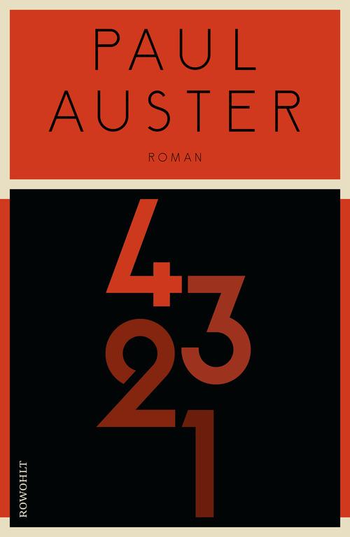4321 von Paul Auster (Deutsche Ausgabe)